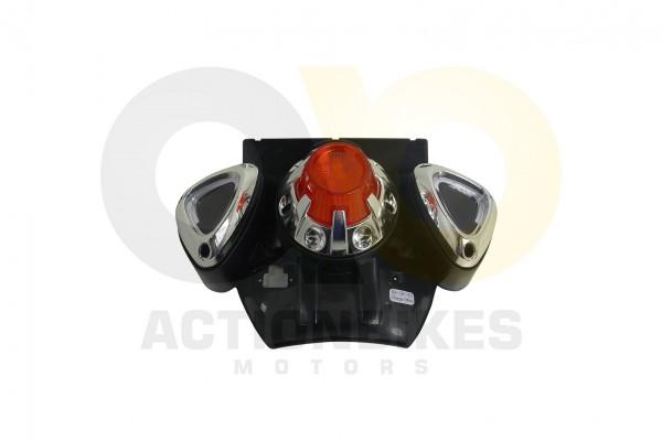 Actionbikes Elektromotorrad--Trike-C031-Schutzblech-hinten-schwarz-mit-Rcklicht-und-Ladebuchse 53484