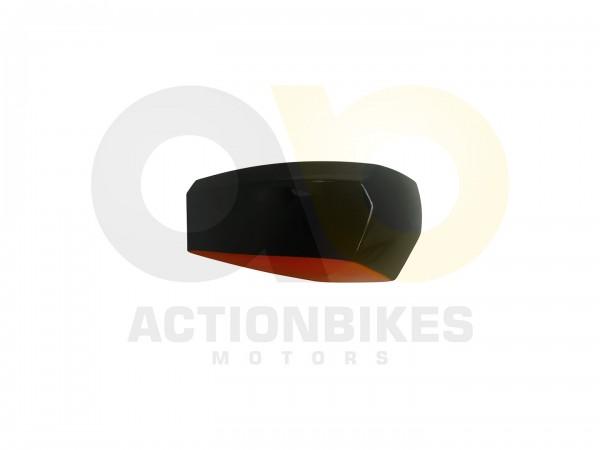 Actionbikes Miniquad-Elektro49-cc-Kotflgel-vorne-und-hinten-Rechts--Orange--Schwarz 57562D4154562D30