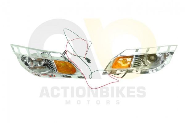 Actionbikes Elektroauto-Audi-Style-A011-8-Scheinwerfer-links-und-rechts-mit-LED 5348432D41532D313036