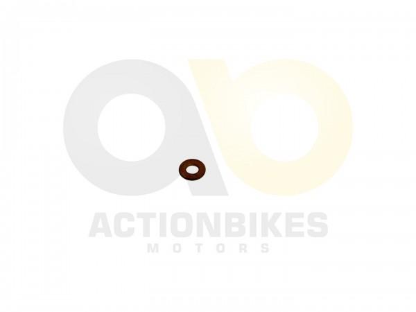 Actionbikes Shineray-XY250ST-9E--SRM--STIXE-Zylinderkopfschraube-Unterlegscheibe-Kupfernur-auen 4742