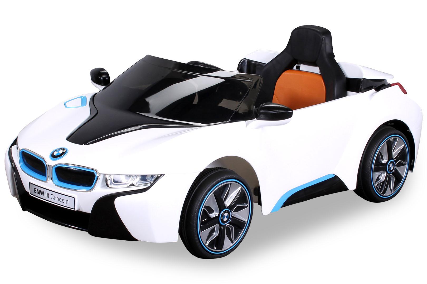 kinder elektro auto bmw i8 kinderauto elektrofahrzeug kinderfahrzeug spielzeug ebay. Black Bedroom Furniture Sets. Home Design Ideas