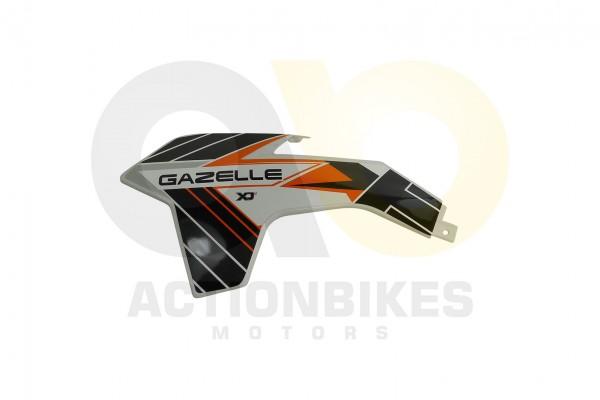 Actionbikes Highper-Mini-Crossbike-Gazelle-49-cc-2-takt--500W-Verkleidung-vorne-links-Orange 48502D4