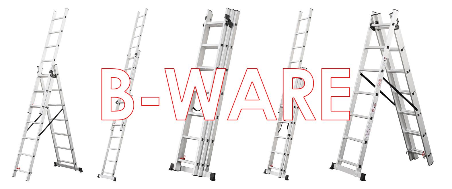 Stehleiter 8.42 Meter 6 Gr/ö/ßen 3x6//3x7//3x9//3x11//3x12//3x14 Multifunktionsleiter Craftfull Aluminium Leiter Teleskopleiter Klappleiter CF-106A 3x12 Sprossen