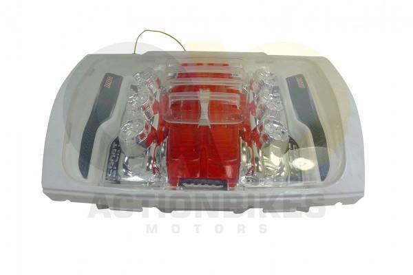 Actionbikes Elektroauto-Audi-Style-A011-8-Verkleidungseinsatz-vorne-wei--komplett-MotorhaubeMotorblo