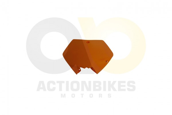 Actionbikes Mini-Crossbike-Delta-49-cc-2-takt-Verkleidung-Nummertafel-vorne-Orange-Neue-Version 4844