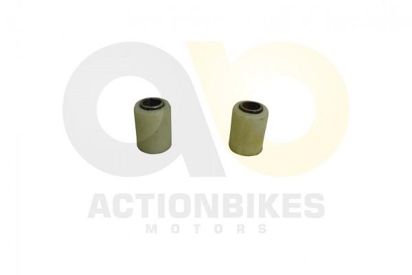 Actionbikes Shineray-XY250STXE-Schwinge-hinten-Lagerbuchse-im-Rahmen-2x-Kunstoff-mit-Metallhlse 3531