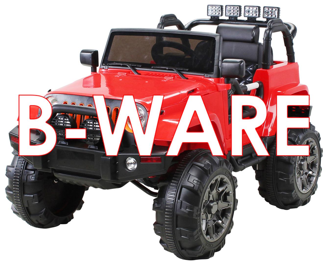 b ware kinder elektroauto offroad jeep adventure 2 x 35. Black Bedroom Furniture Sets. Home Design Ideas