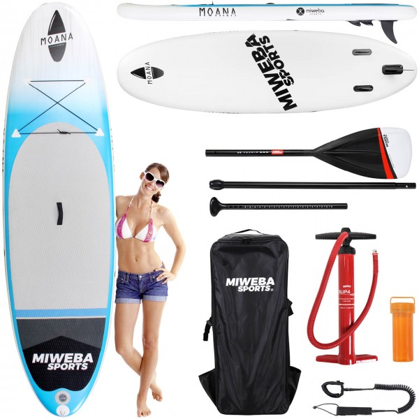 Miweba-Sports Stand-Up-Paddle Moana Cool-Blue 305cm Vorteile2_100148