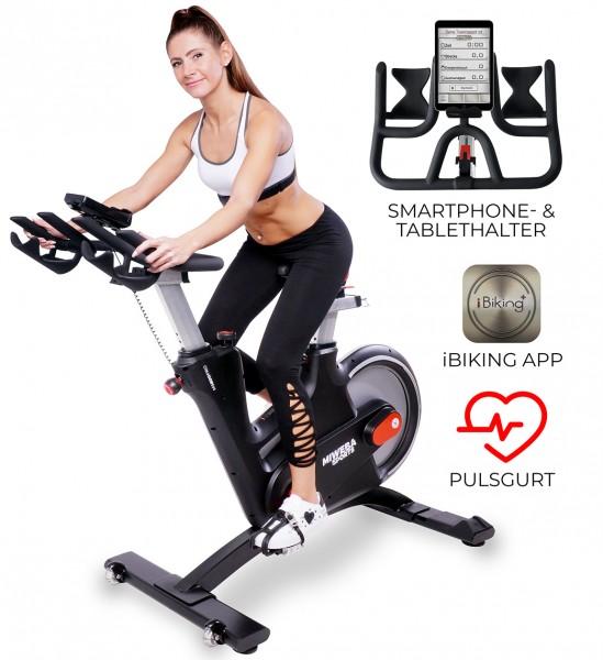 Miweba-Sports Startbild Fitnessbike MS600 Schwarz-Rot_102405