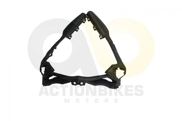 Actionbikes JiaJue-JJ50QT-17-Verkleidungshalter-grau-vorne-fr-Scheinwerferverkleidung-und-Verkleidun