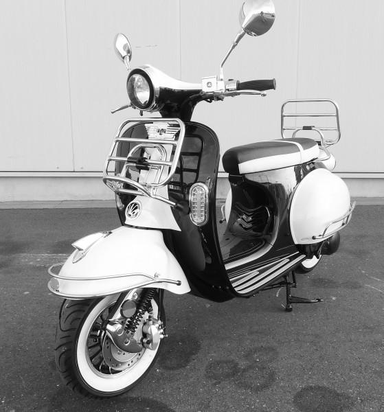 b ware znen retro star motorroller zn125t 27 125 cc euro 4. Black Bedroom Furniture Sets. Home Design Ideas