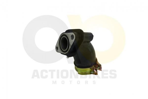Actionbikes Motor-139QMA-A-Vergaser-Ansaugstutzen-Schelle-101304-139QMA-0000-und-Dichtring--GBT34521