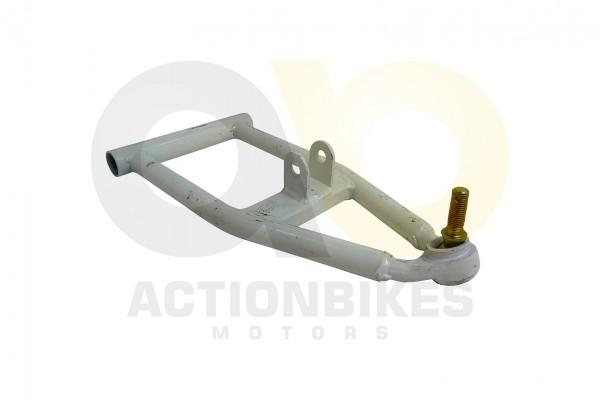 Actionbikes Mini-Quad-125-cc-Querlenker-unten-wei-S-10leerohne-Buchsen 333535303033342D32382D31 01 W