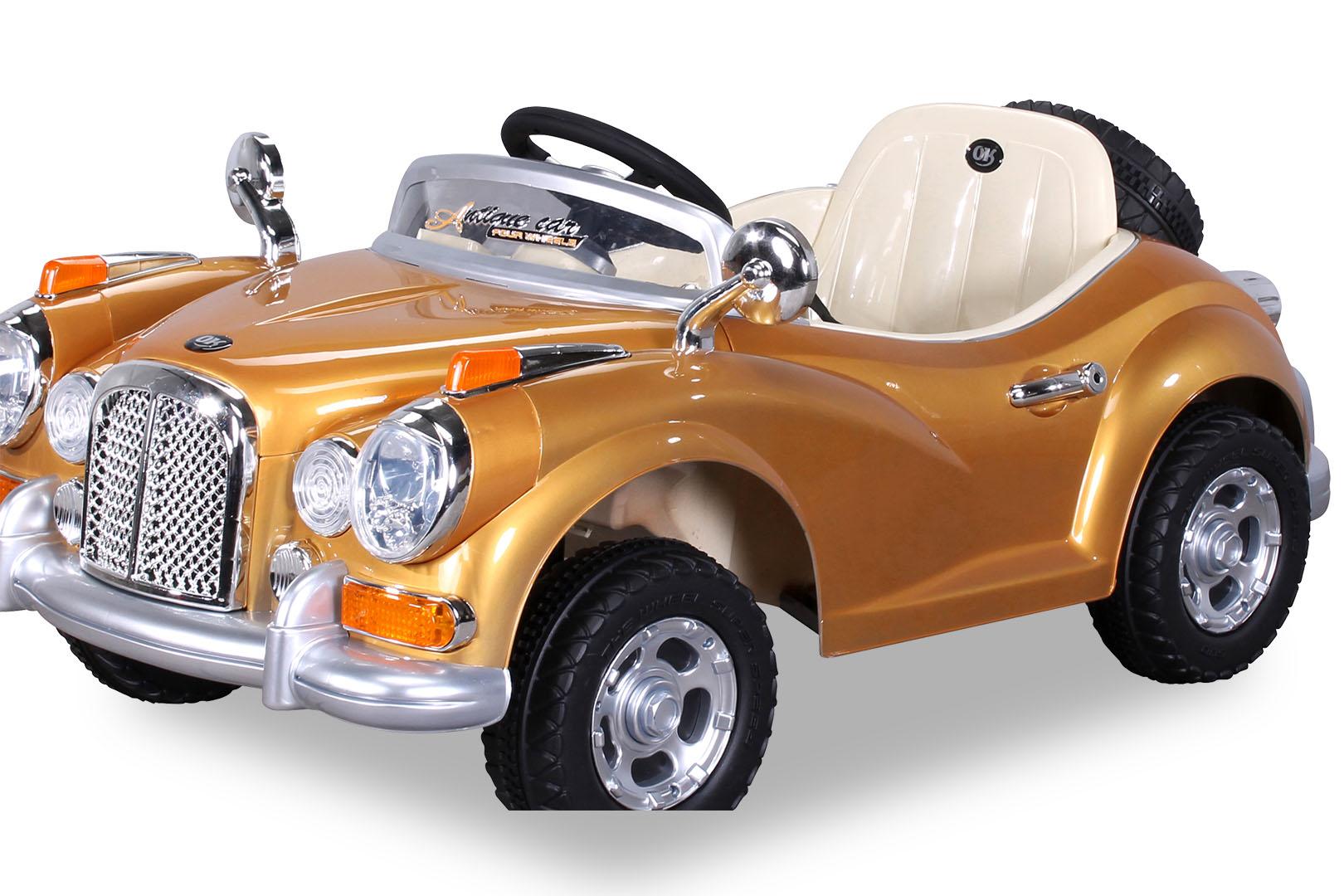 kinder elektro auto oldtimer kinderauto elektrofahrzeug kinderfahrzeug spielzeug ebay. Black Bedroom Furniture Sets. Home Design Ideas