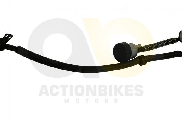 Actionbikes Shineray-XY250-5A-Bremsleitung-Hauptbrenszylinder--Bremssattel-hinten 35353032303135382D