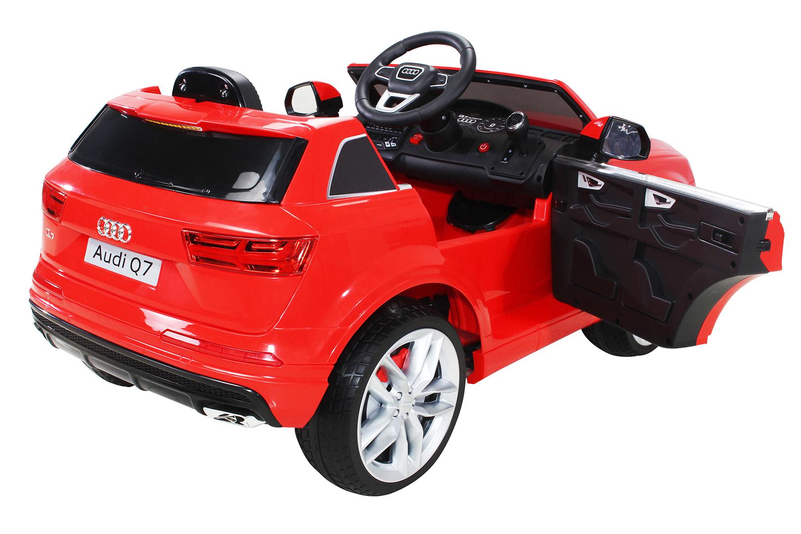 elektroauto audi q7 suv kinderauto elektrofahrzeug kinder. Black Bedroom Furniture Sets. Home Design Ideas