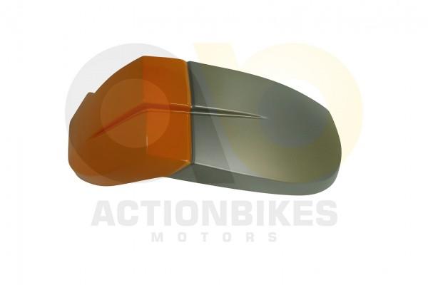 Actionbikes Luck-Buggy-LK260--LK250--LK500-Kotflgel-vorne-links-orange 35303139352D424445302D3030303