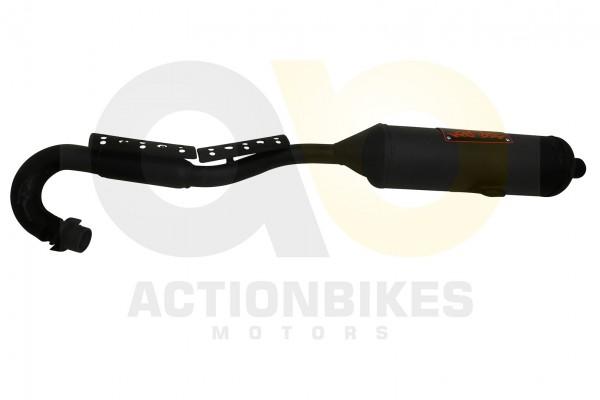 Actionbikes Shineray-XY200STIIE-B--200STII-Auspuff-komplett 3138303130303737 01 WZ 1620x1080