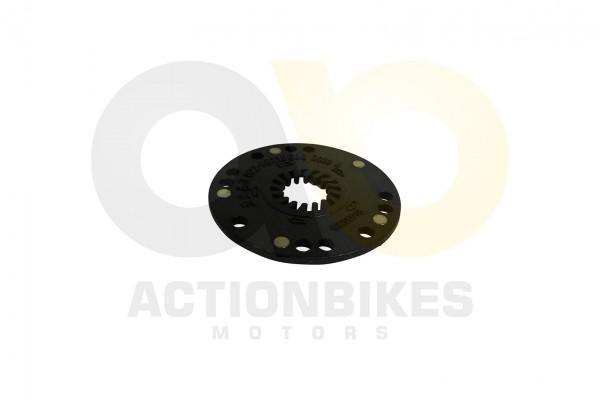 Actionbikes TXED-Alu-Elektro-Fahrrad-City-4000HT-Umdrehungssensor-Magnetscheibe 545845442D48542D3030