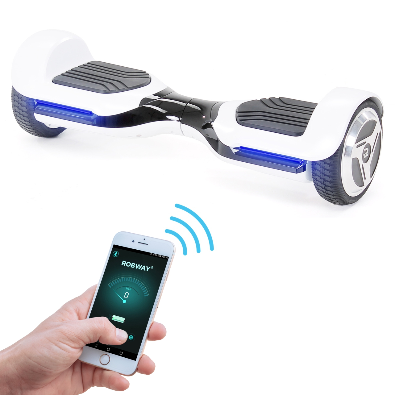 robway rg1 self balancing scooter hoverboards von. Black Bedroom Furniture Sets. Home Design Ideas