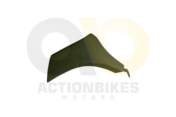 Actionbikes Jinling-Startrike-300-JLA-925E-Verkleidung-vorne-links-unten-wei-ohne-Lftungsschlitze 4A