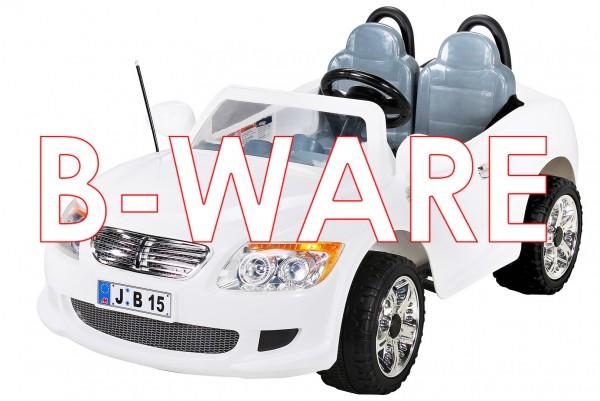 b ware kinder elektroauto 2 sitzer b15 mit 2 x 45 watt. Black Bedroom Furniture Sets. Home Design Ideas