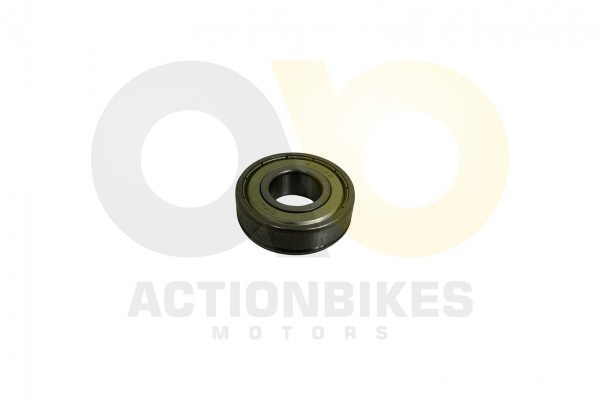 Actionbikes Schneefrse-Raupe-Lager-6203-Z-mit-Nut--Antriebswelle-fr-Fhrungsscheibe-und-Gummieinsatz