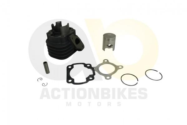 Actionbikes 1PE40QMB-Motor-50cc-Zylinderkit-ZylinderKolbenKolbenringeKolbenbolzenKolbenbolzenringe--