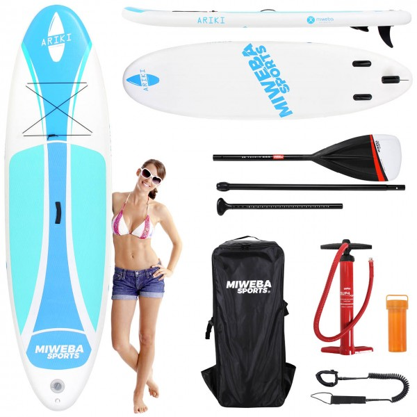 Miweba-Sports Stand-Up-Paddle Ariki Cool-Blue 86cm Vorteile2_99977