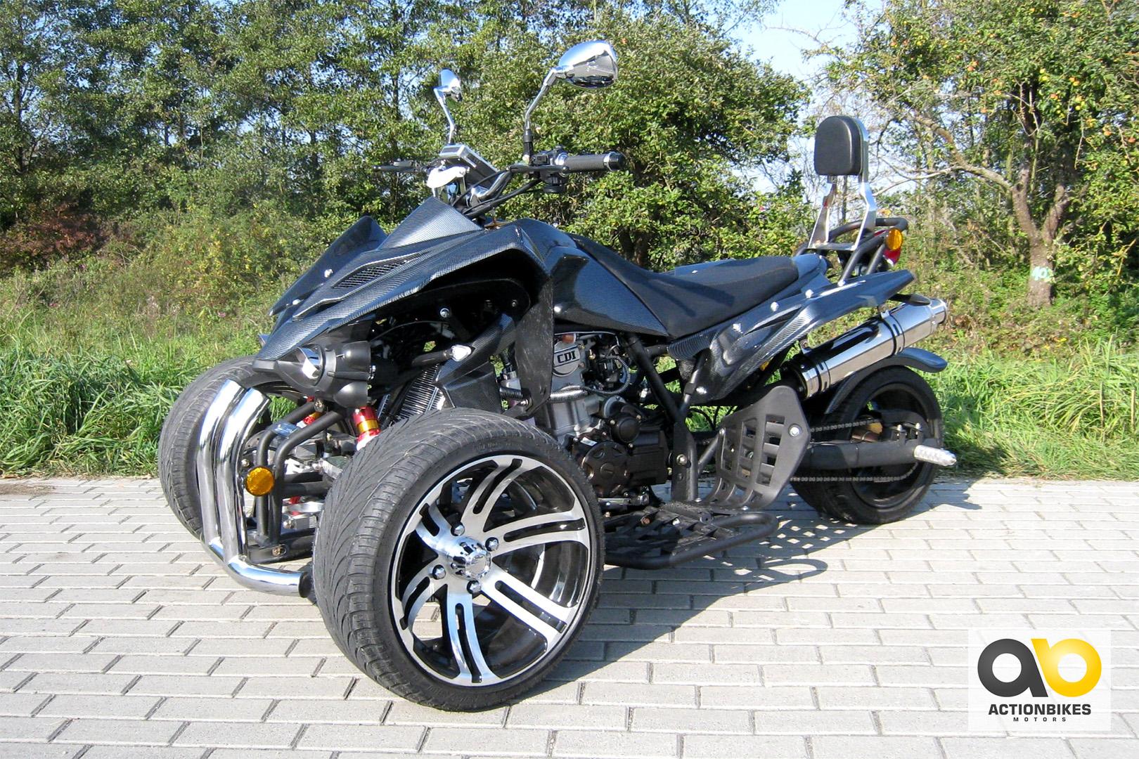 quad atv speedtrike 250 cc trike jla 923e 1 carbon look. Black Bedroom Furniture Sets. Home Design Ideas