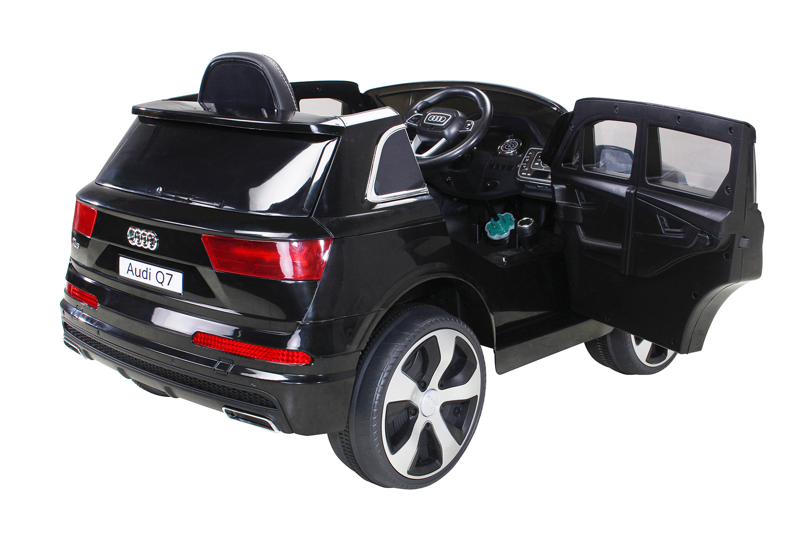 kinder elektroauto audi q7 highdoor suv kinderauto elektrofahrzeug spielzeug ebay. Black Bedroom Furniture Sets. Home Design Ideas