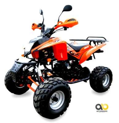 Orange/Schwarz