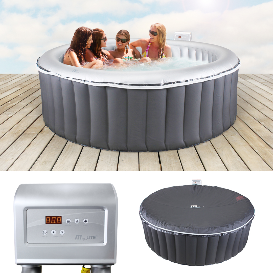miweba luxus whirlpool aufblasbar mspa m 021ls jacuzzi. Black Bedroom Furniture Sets. Home Design Ideas