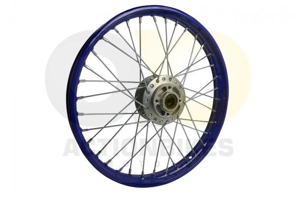 Actionbikes Huabao-Crossbike-JC125cc-Felge-vorne-Blau-17-Zoll 48422D3132352D312D313034 01 WZ 1620x10