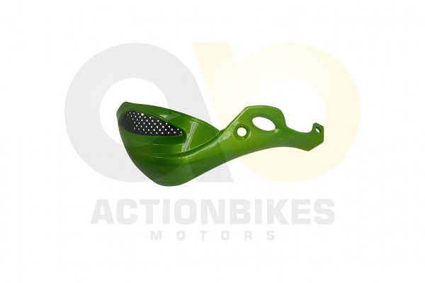 Actionbikes Shineray-XY250ST-9E--SRM--STIXE-Handprotector-rechts-grn-metallik 35333138303034342D382D