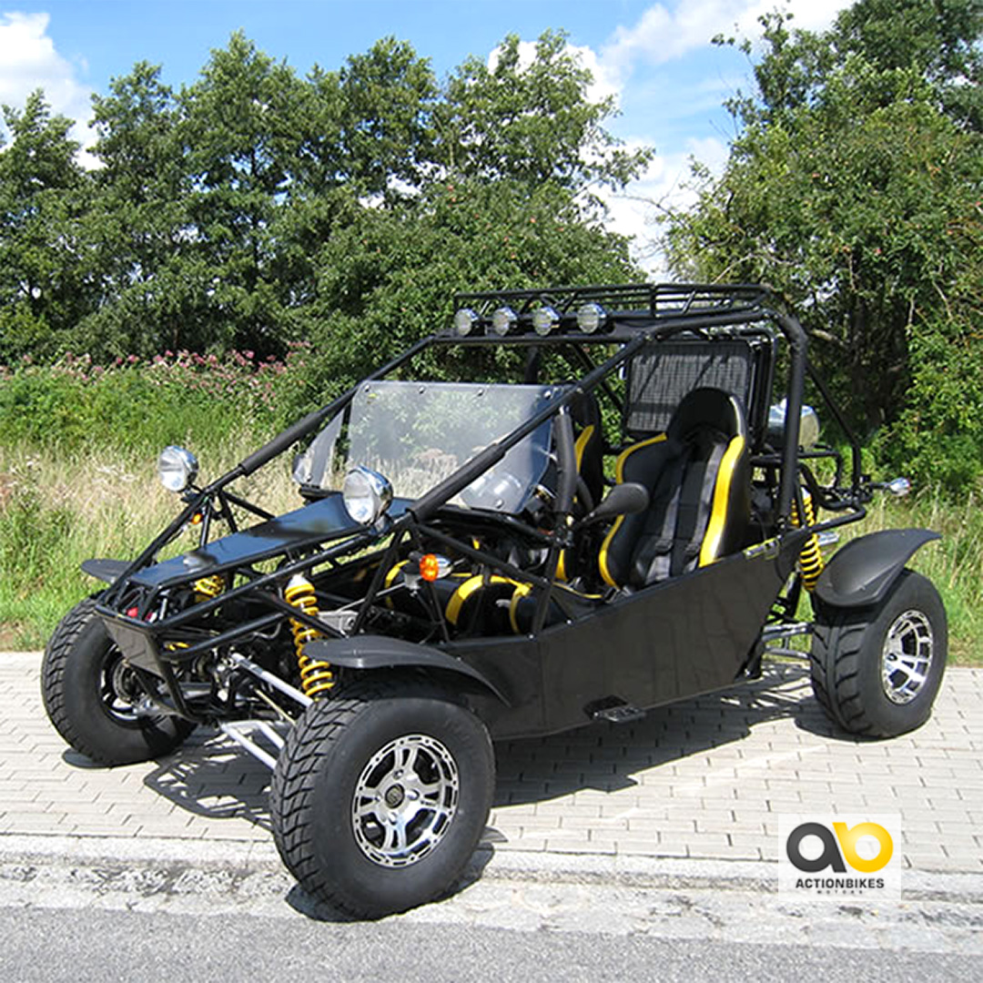 buggy goka 650 ccm with mot approval differential quad
