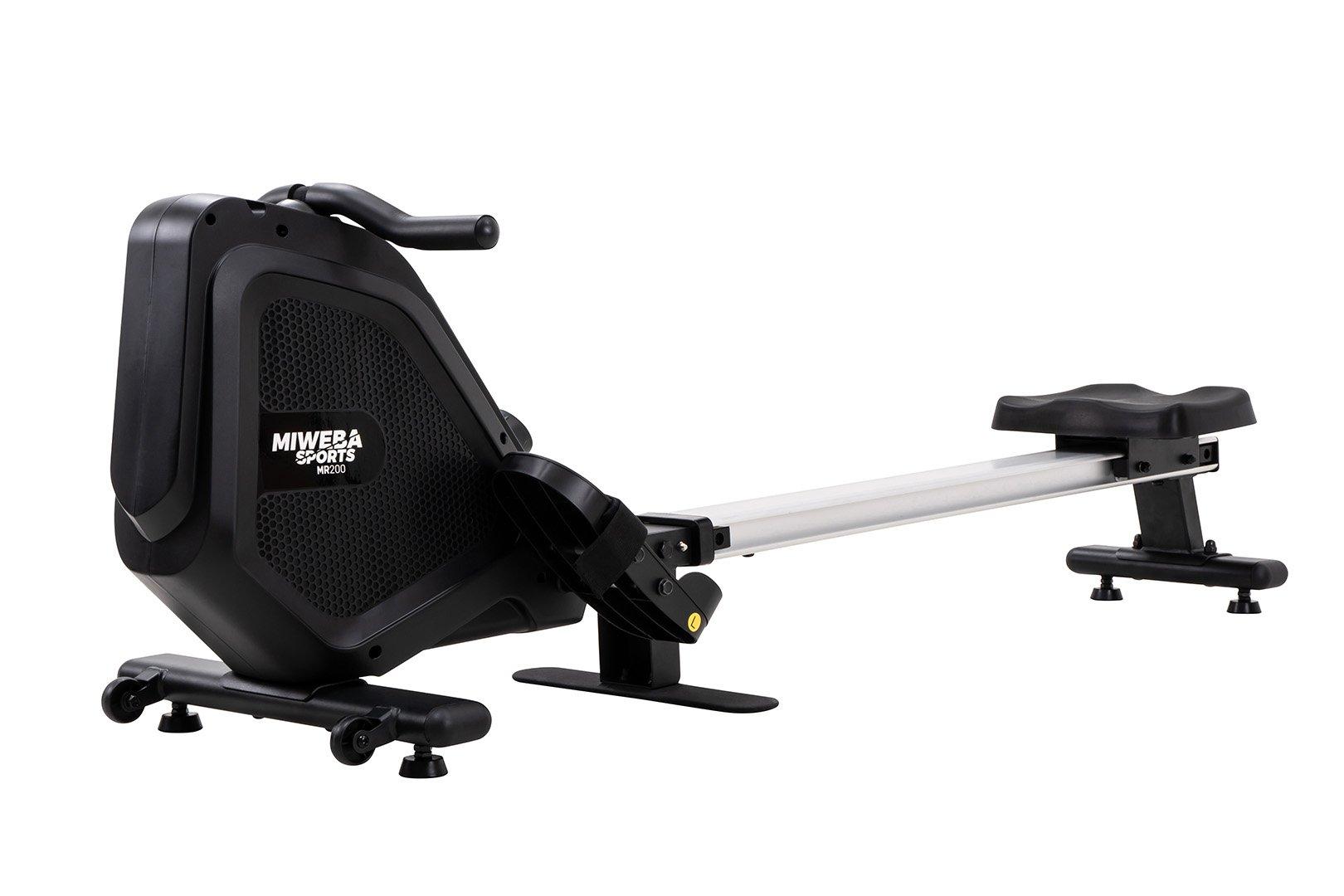 Wioślarz Miweba Sports MR200 dla początkujących z oporem magnetycznym