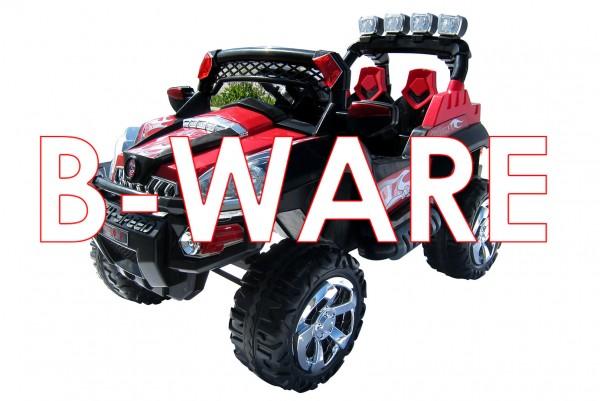 B-Ware 801 schwarz rot