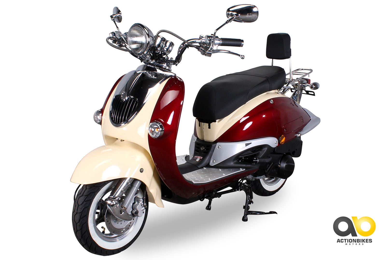 znen retro roller zn125 h motorroller 125 cc retroroller. Black Bedroom Furniture Sets. Home Design Ideas
