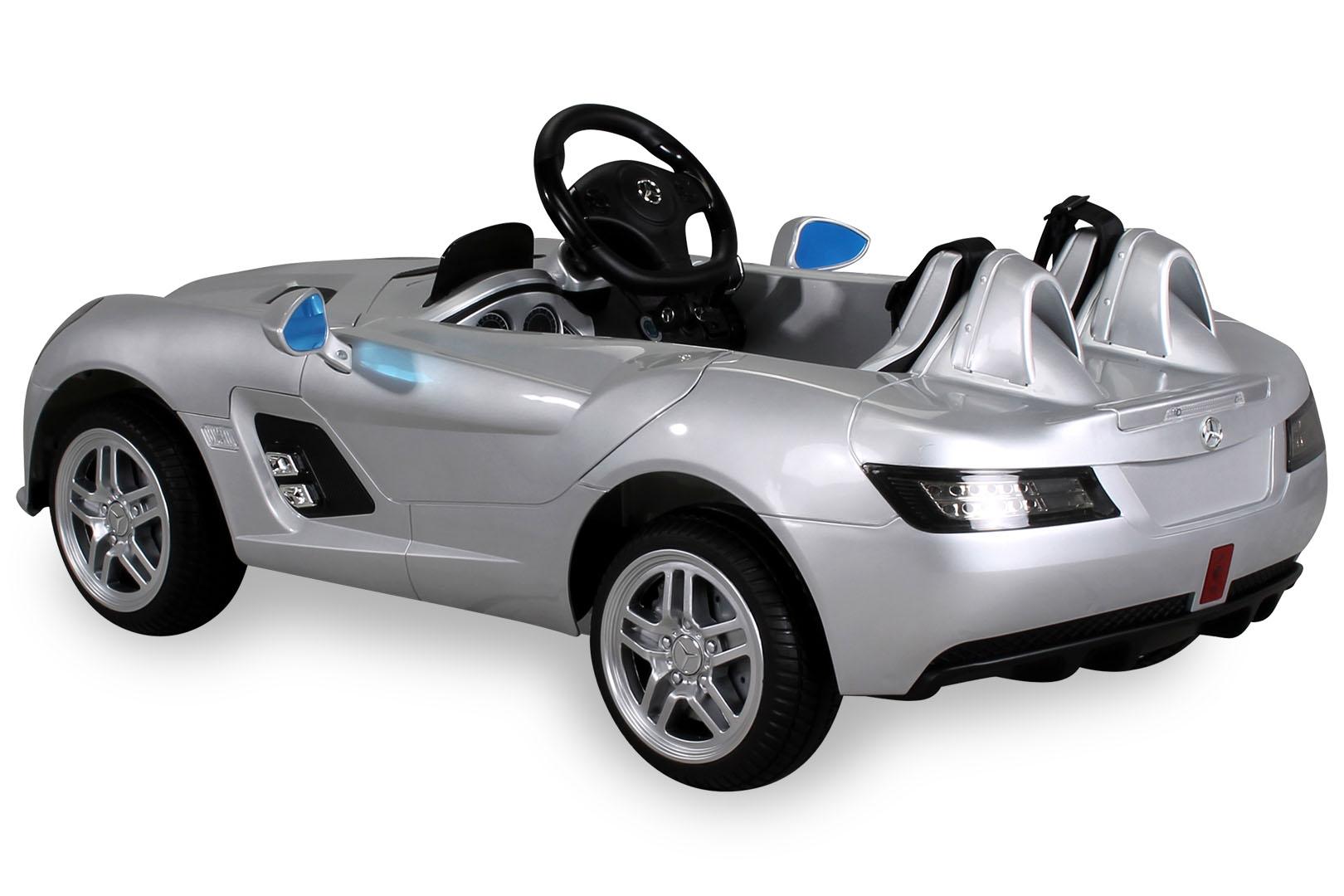 enfants voiture lectrique mercedes slr mclaren stirling moss v hicule auto ebay. Black Bedroom Furniture Sets. Home Design Ideas