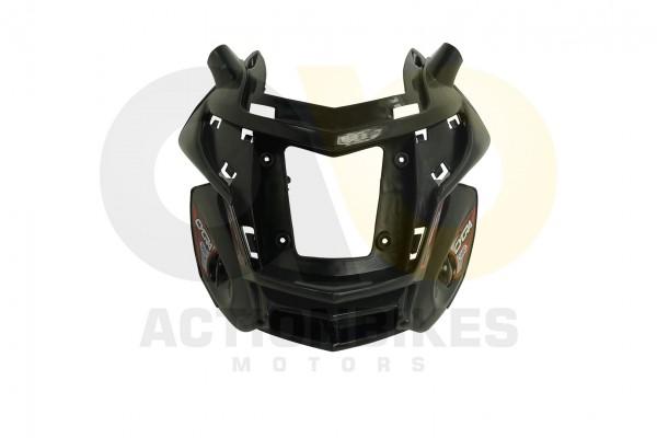 Actionbikes Elektromotorrad--Trike-Mini-C051-Verkleidung-Scheinwerfer-schwarz 5348432D544D532D313032