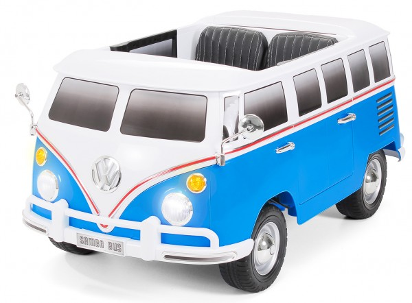 kinder elektroauto vw bulli lizenziert 2 motoren 12 v 35. Black Bedroom Furniture Sets. Home Design Ideas