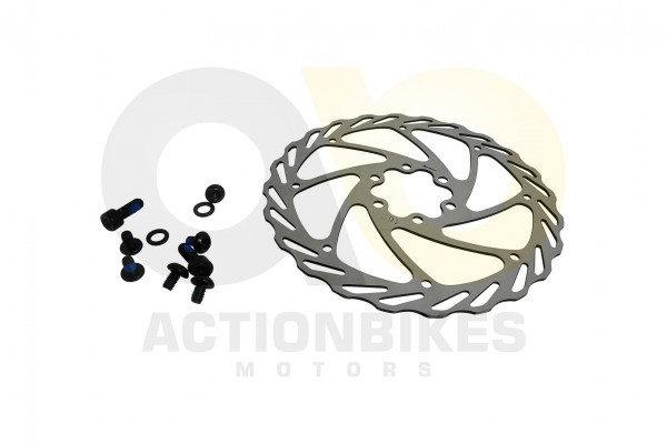 Actionbikes TXED-Alu-Elektro-Fahrrad-Trekking-M-Bremsscheibe--vorne-hinten- 545845442D542D3030303131