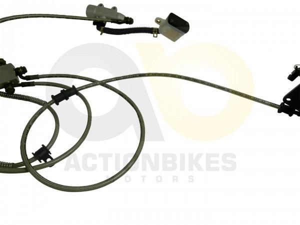 Actionbikes Shineray-XY200STIIE-B-Bremsleitung-Verteiler----Bremssattel-hinten 35353032303038342D37