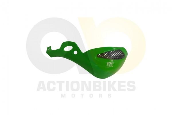 Actionbikes Shineray-XY250ST-9E--SRM--STIXE-Handprotector-links-grn-hellkein-Metallik 35333138303034