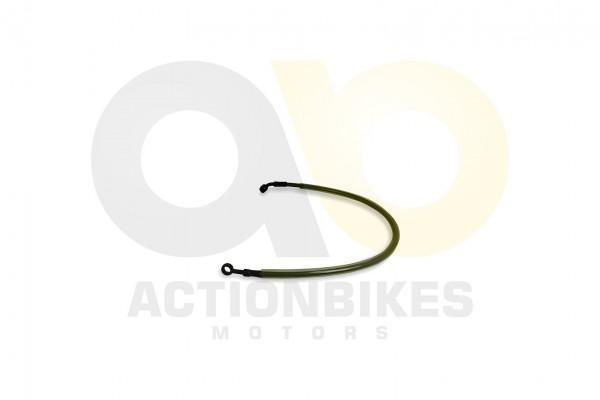 Actionbikes XYPower-XY500ATV-Bremsleitung-Verteiler-vorne---Bremssattel-vorne-links-600-mm 353936393