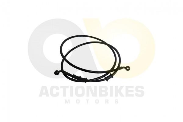 Actionbikes Speedstar-JLA-931E-Bremsleitung-1400mm-Verteiler-vorne---Hauptbremszylinder-Mad-Max 4A4C