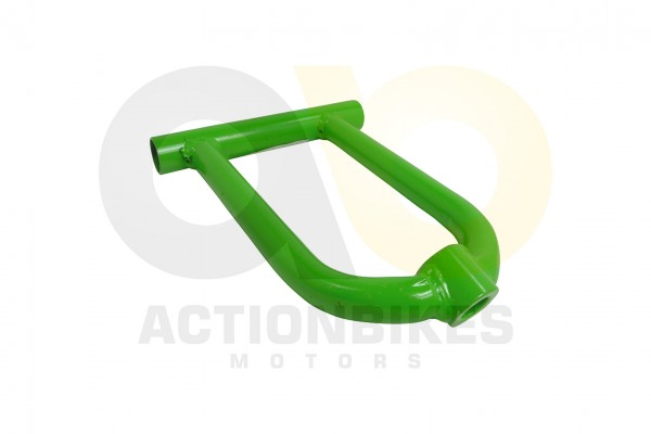 Actionbikes Mini-Quad-125-cc-Querlenker-oben-grn-S-10leerohne-Buchsenohne-Kugelkopf 333535303033342D
