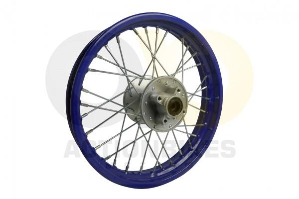 Actionbikes Huabao-Crossbike-JC125cc-Felge-hinten-Blau-14-Zoll 48422D3132352D312D3130342D31 01 WZ 16