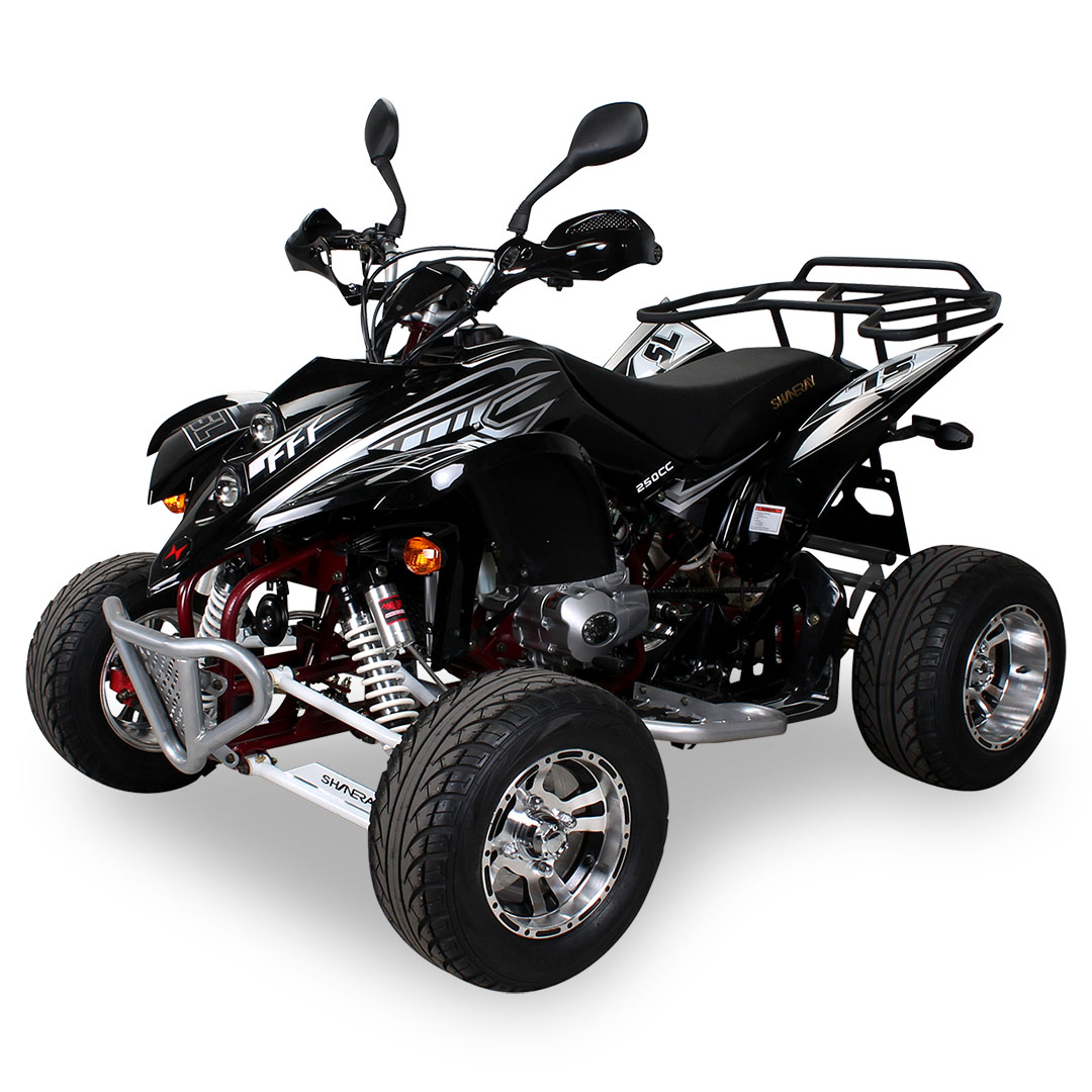quad atv shineray xy250stixe xy250st 9e 250ccm mit. Black Bedroom Furniture Sets. Home Design Ideas